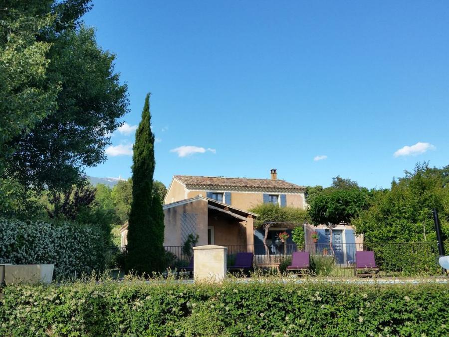 Gîte La Piboulo piscine privée Bédoin/Ventoux